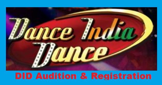 DID Audition, Registration, Dance India Dance, Start Date, Online