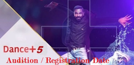 Dance Plus Audition, Registration, Online, Date, Venue, Details