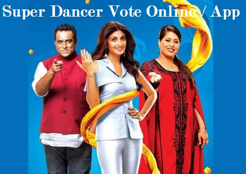 Super Dancer Vote Online, Winners Name, Voting Line