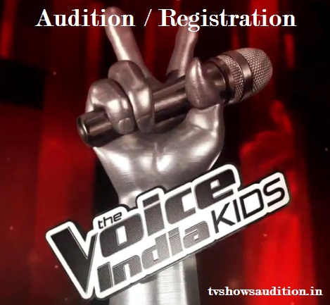 The Voice India Kids Audition, Registration, Date, Online, Venue