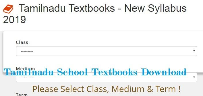 Tamilnadu School Textbooks Free Pdf File Download Online