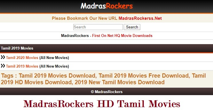 Madras Rockers 2020 {Tamil} Dubbed Movies@-Download Online