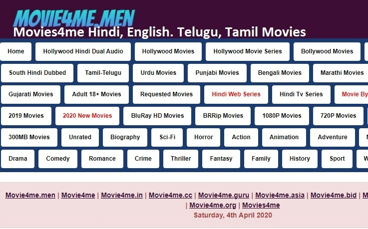 Movies4me, Download HD Movies, Watch New Movies, Tamil Movies, Hindi, English Movies, Dubbed Movies